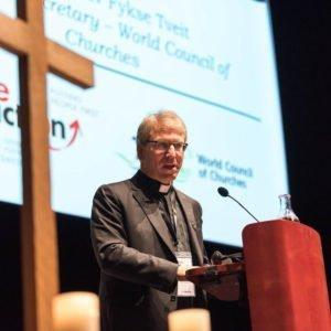 Ekumenisk Helg Uppsala Olov Fykse Tveit talar