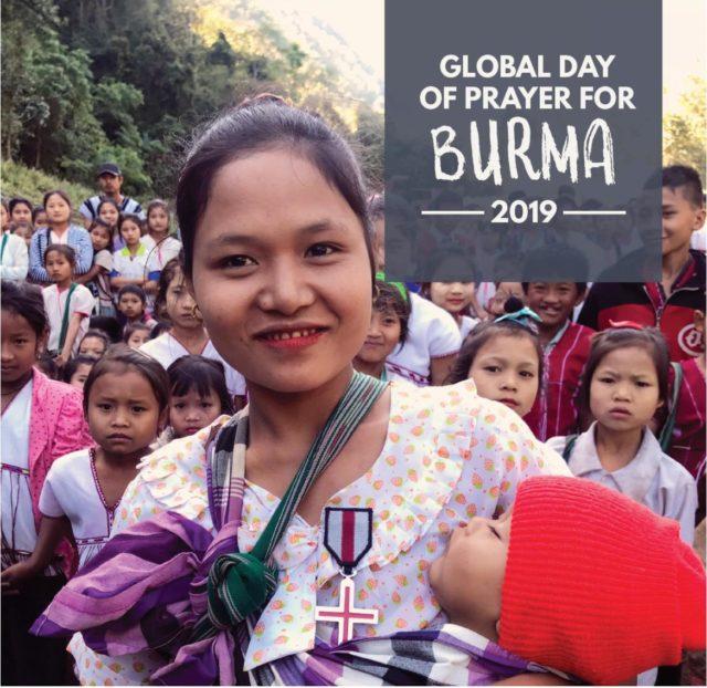 Global bönedag för Burma den 10 mars