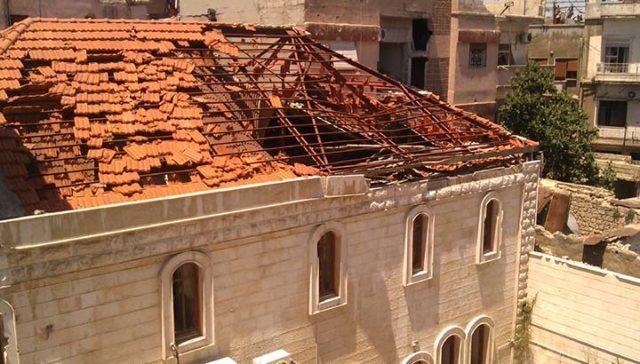 Hoppet om framtiden lever i Homs