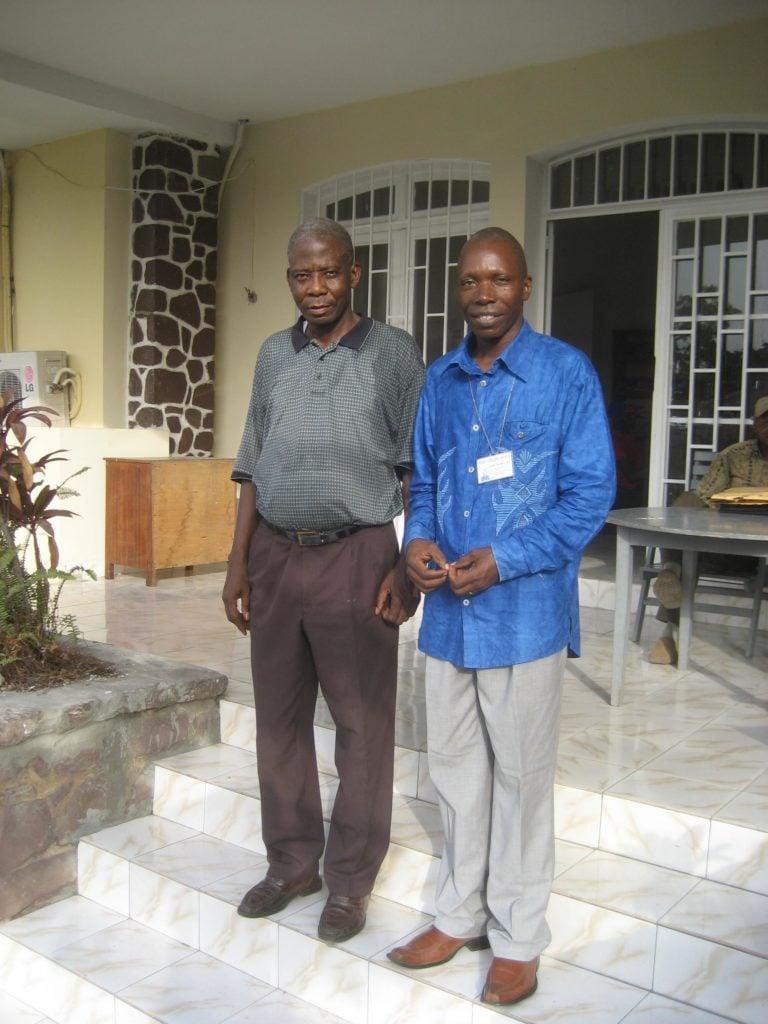Oscar Masakale och Andersson Nsimba