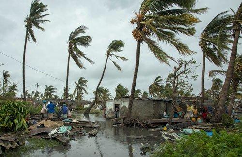 Akut insamling: Ofattbar förödelse i Moçambique efter cyklonen Idai