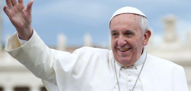 Fredsbudskap från Påve Franciscus på nyårsdagen 2018