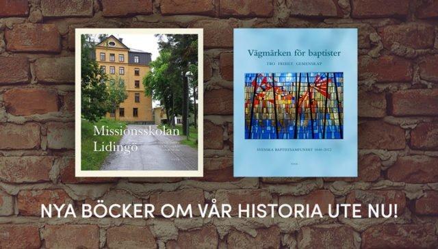 Nya böcker om vår historia – ute nu