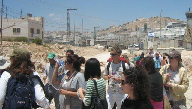 Elever på besök i Israel & Palestina
