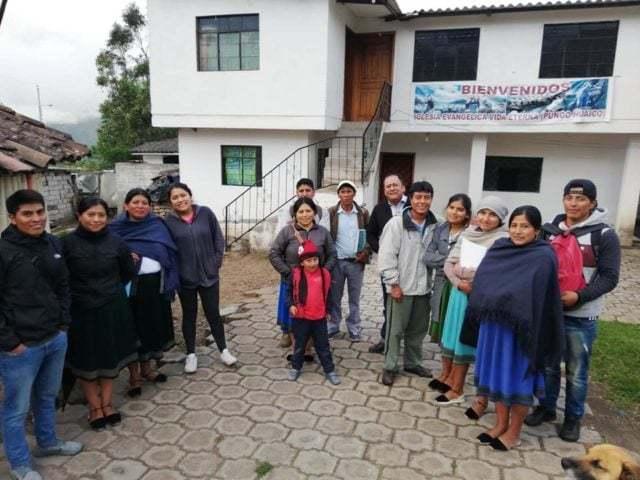 Elever på pastorsutbildningen