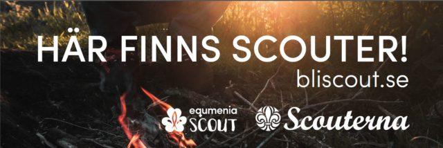 Ny möjlighet att beställa banderoll till din scoutkår