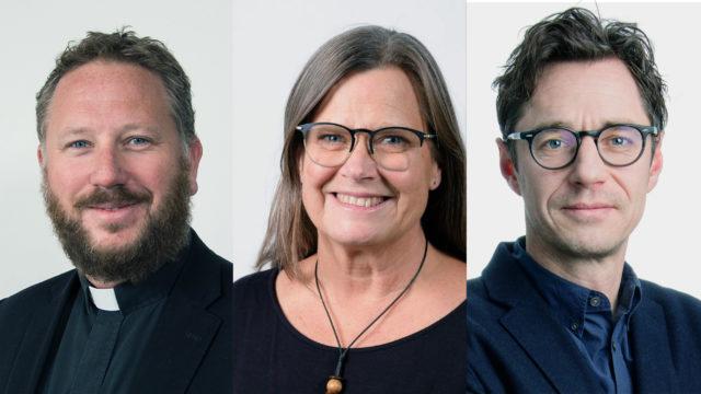 Ny trio föreslås som kyrkoledare