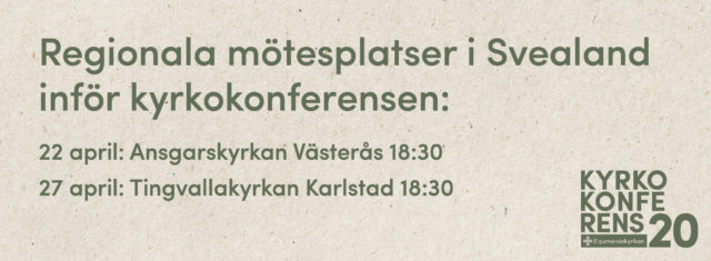 Regionala mötesplatser i Svealand