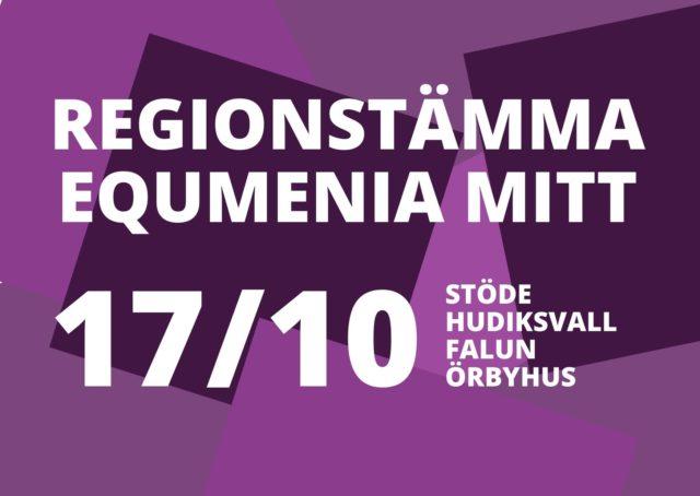 Handlingar till Equmenia Mitts regionstämma
