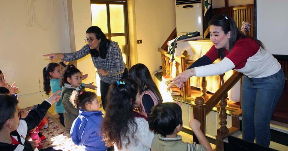 Sunday school Syrien