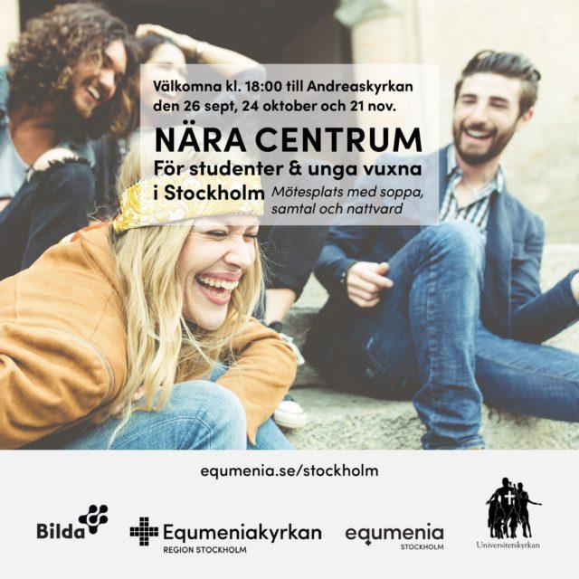 Nära centrum- För studenter och unga vuxna