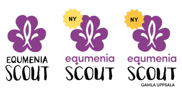 Uppdaterad logotyp för Equmeniascout