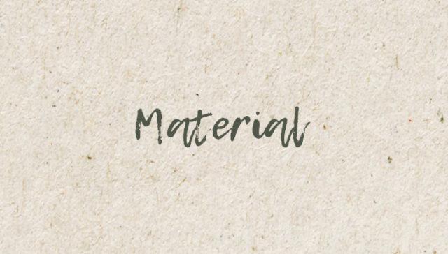 Länkplatta - Material