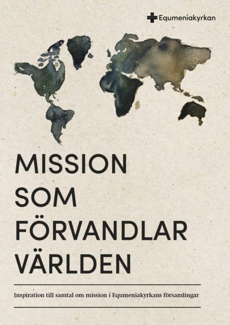 Mission som förvandlar världen - omslag