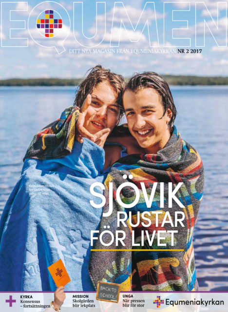 Omslag - Tidningen Equmen nr 2 2017