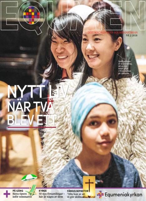 Omslag - Tidningen Equmen nr 2 2018