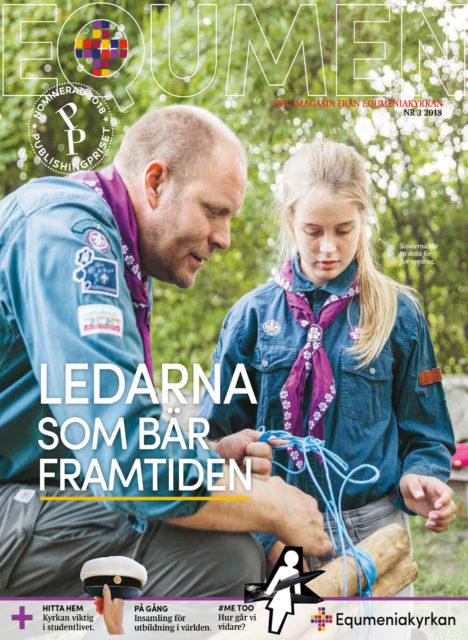 Omslag - Tidningen Equmen nr 3 2018