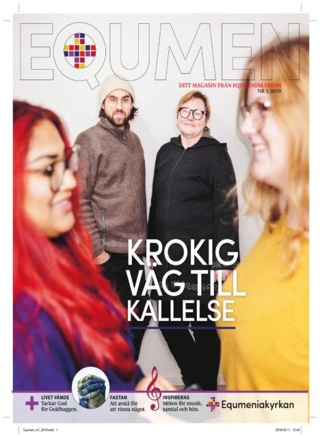Omslag - Tidningen Equmen nr 1 2019