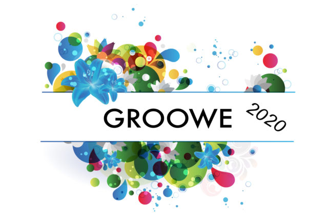 Header för tonårslägret Groowe 2020