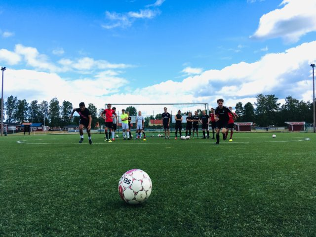 Fotbollsläger i på Öckerö