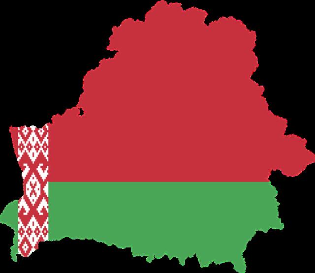 Flagga belarus karta