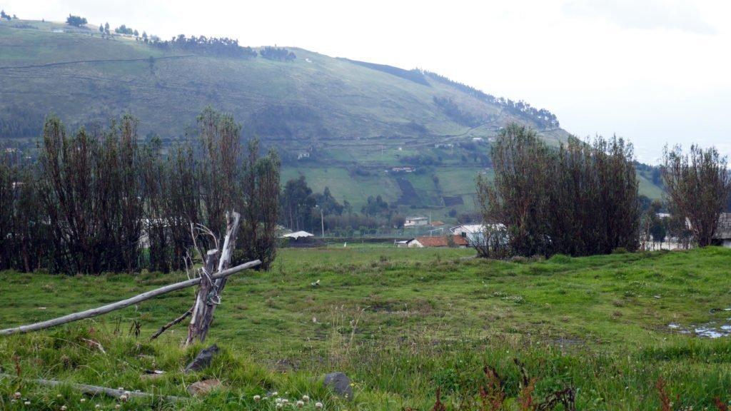 Berg i norra Ecuador