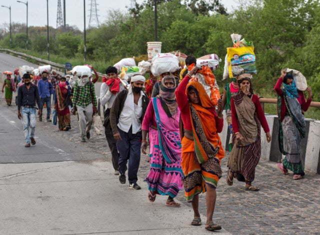 Stöd till samarbetskyrkor i Coronas fotspår