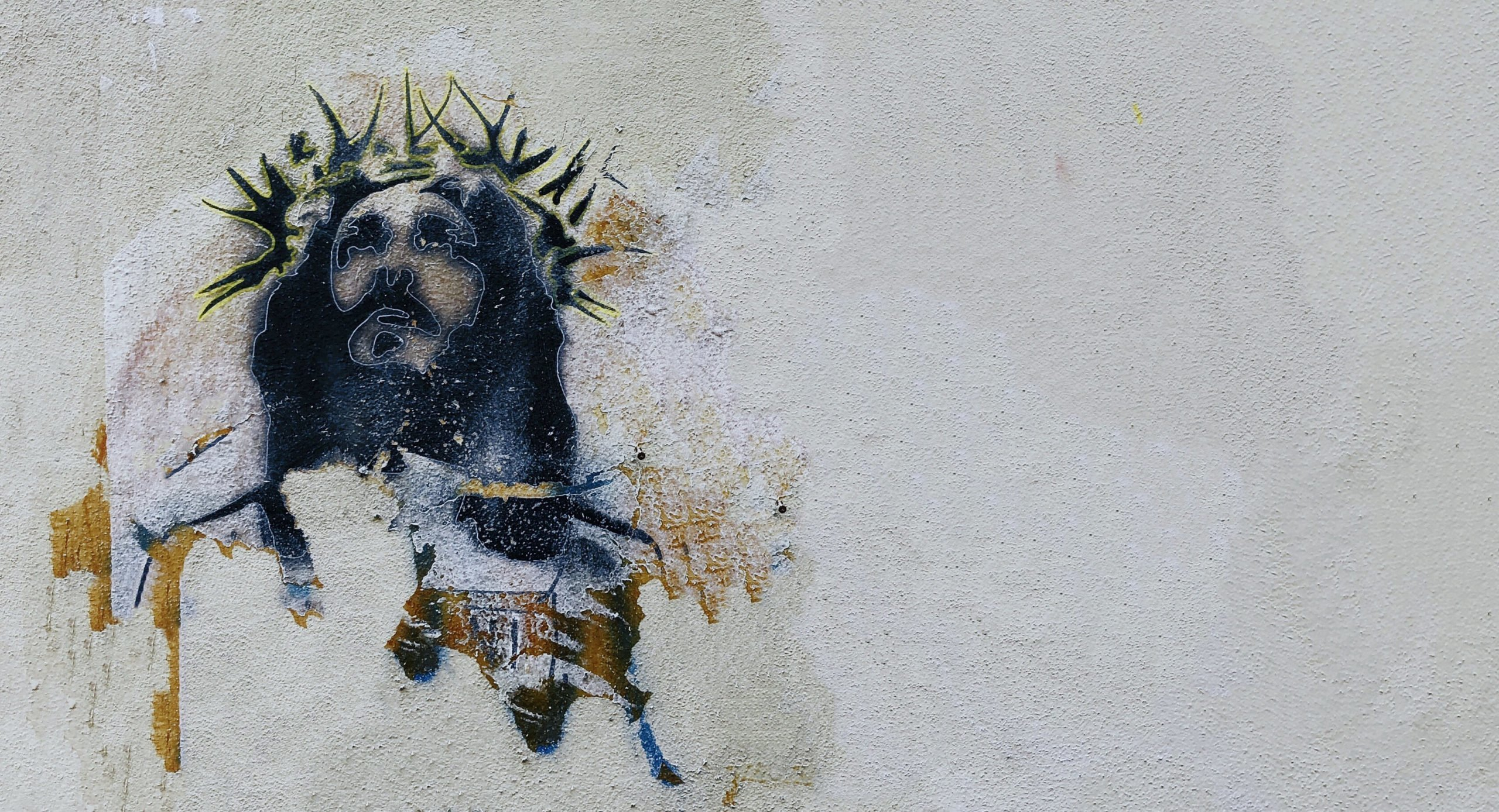 Jesus - graffiti
