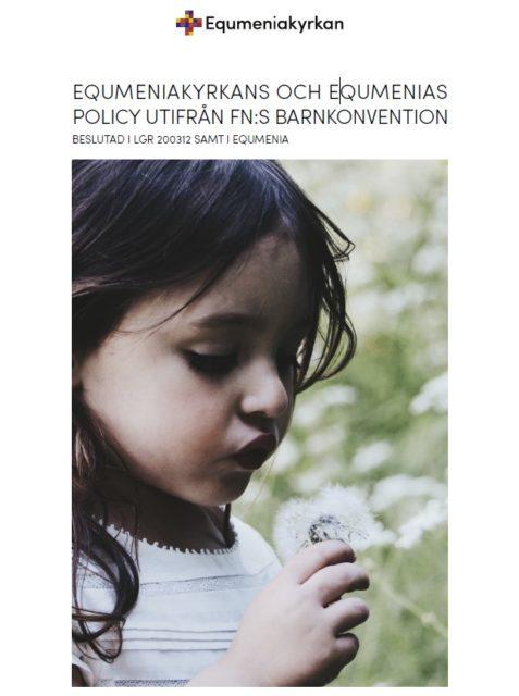 Omslag - Policy utifrån fns barnkonvention