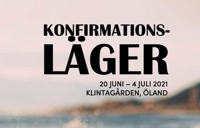 Header för konfalägret på Klintagården 2021