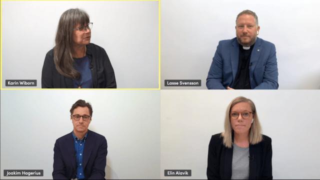Intervju med Lasse Svensson, Karin Wiborn och Joakim Hagerius