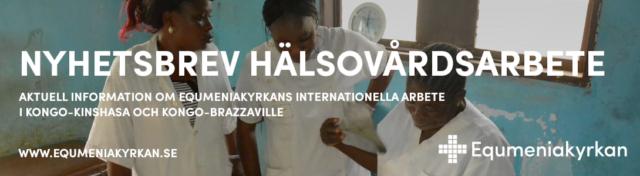 Nyhetsbrev om hälsovårdsarbetet i Kongo oktober -20