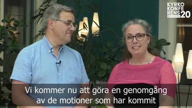 Videoklipp | Konferensens motioner - Klas Johansson och Victoria Gejrot