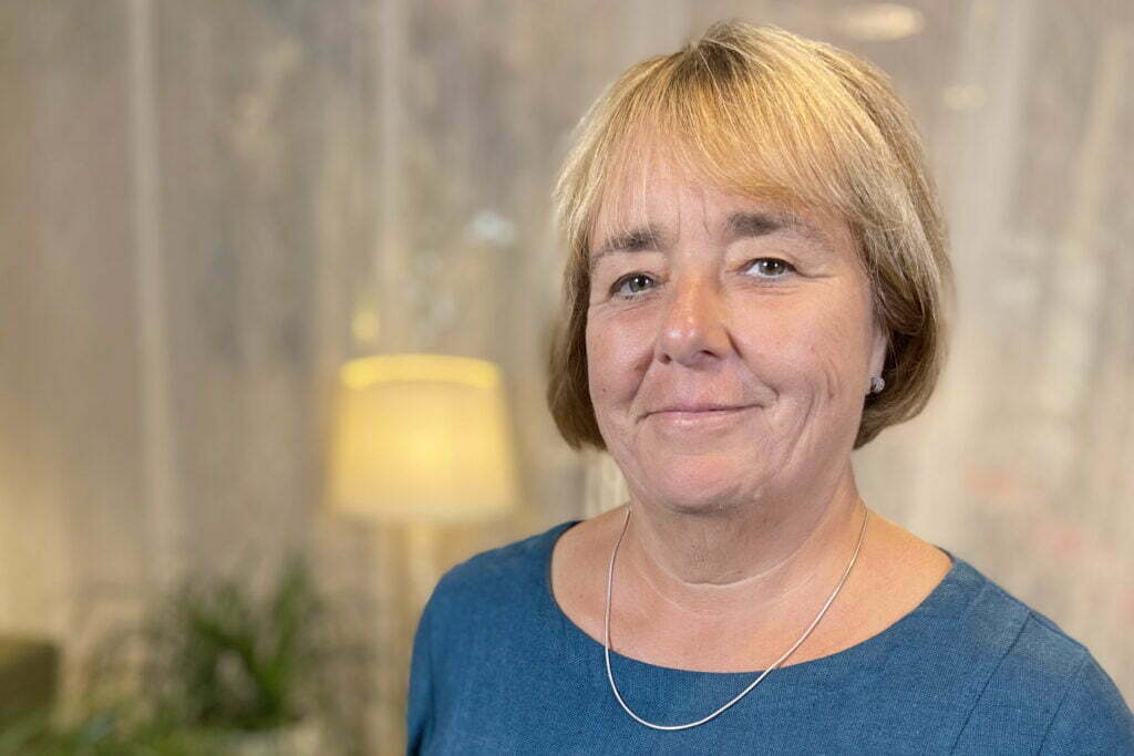 Kerstin Enlund, ordförande kyrkostyrelsen