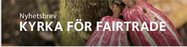 Nyhetsbrev – Kyrka för fairtrade