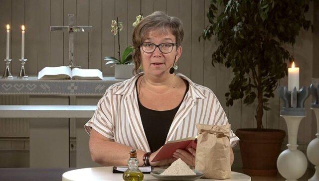 Ulrika Morazan predikar