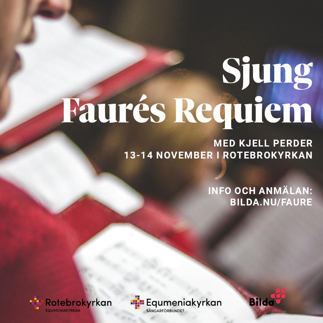 Sjung Faures Requiem