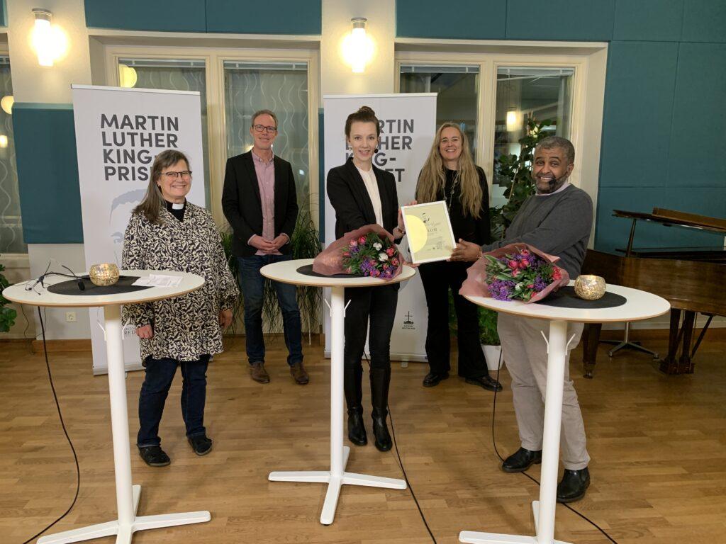 Karin Wiborn, George Olvik, Fredrika Gårdfeldt, Lotta Sjöström Becker och Jalal Darir