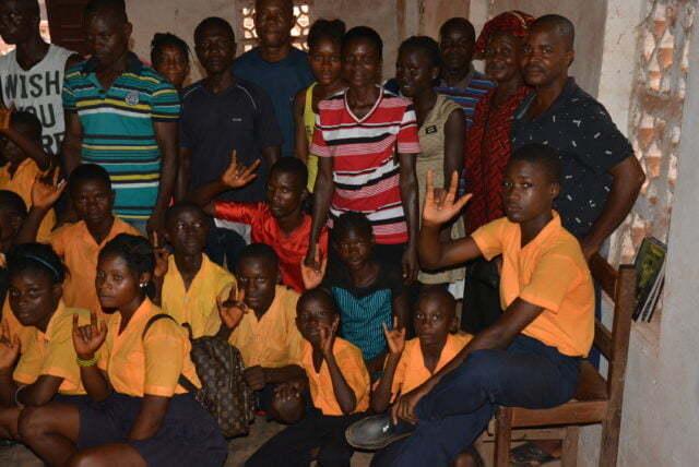 Bön för Liberia