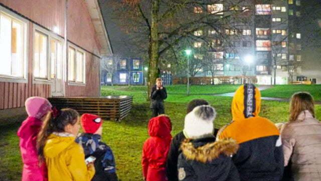 Reportage om Rosa huset och scouterna i Lövgärdet