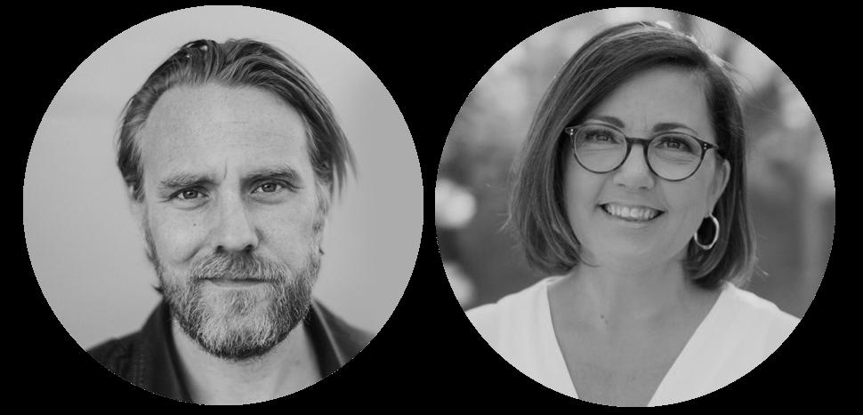 Michael Jeff Johnson och Jeanette Alfredsson