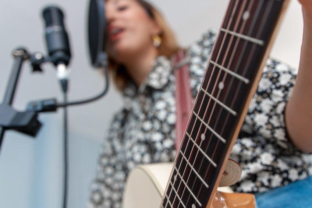 Sång och gitarr