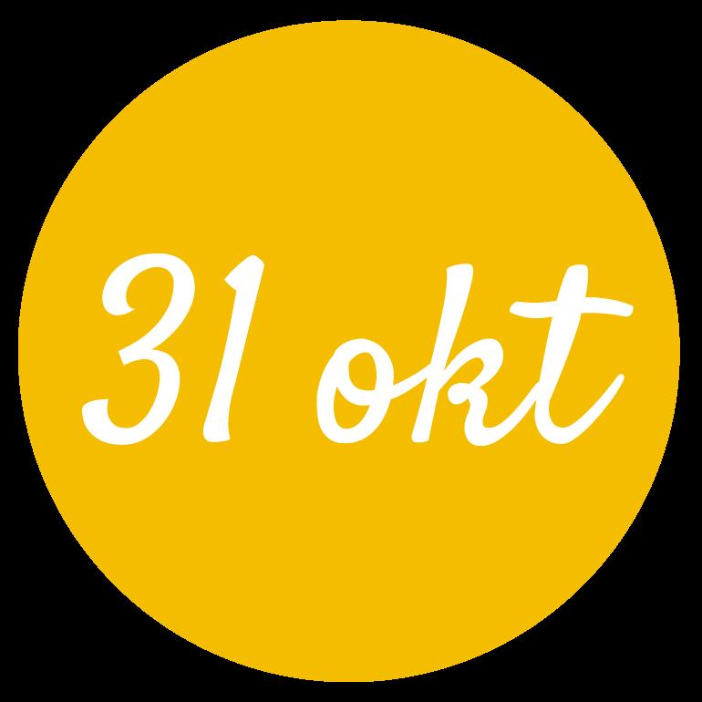 31 okt
