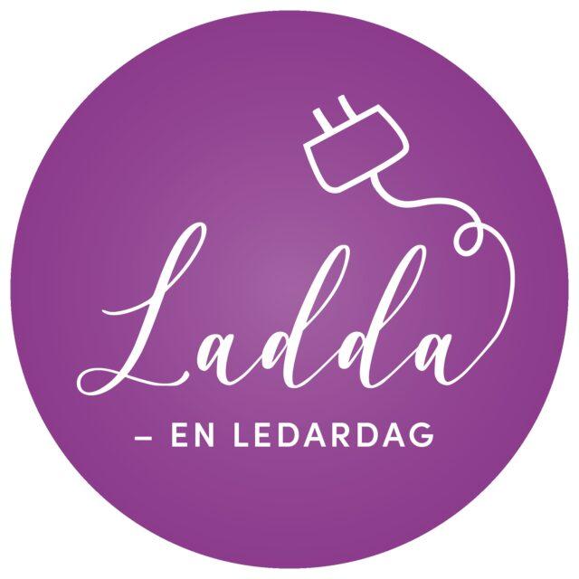 Logga för Ladda - en ledardag i Region Öst
