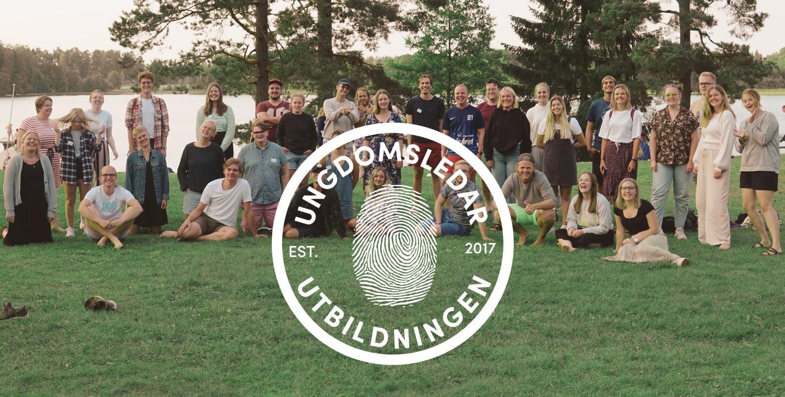 Gruppbild Ungdomsledarutbildningen 2020