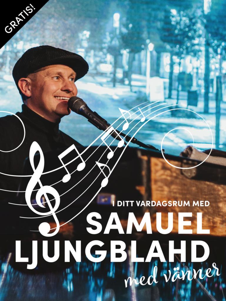 Samuel Ljungblahd med vänner
