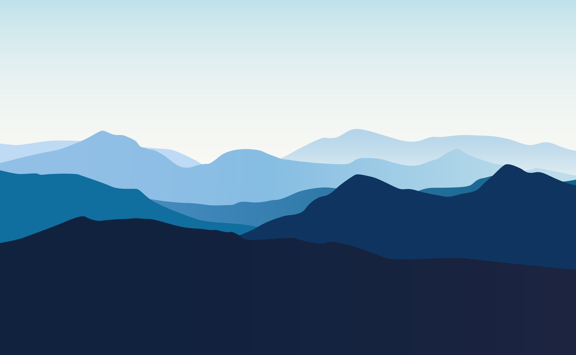 bergskedja illustration
