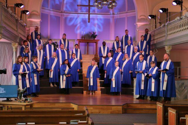 Ordination av pastorer och diakoner