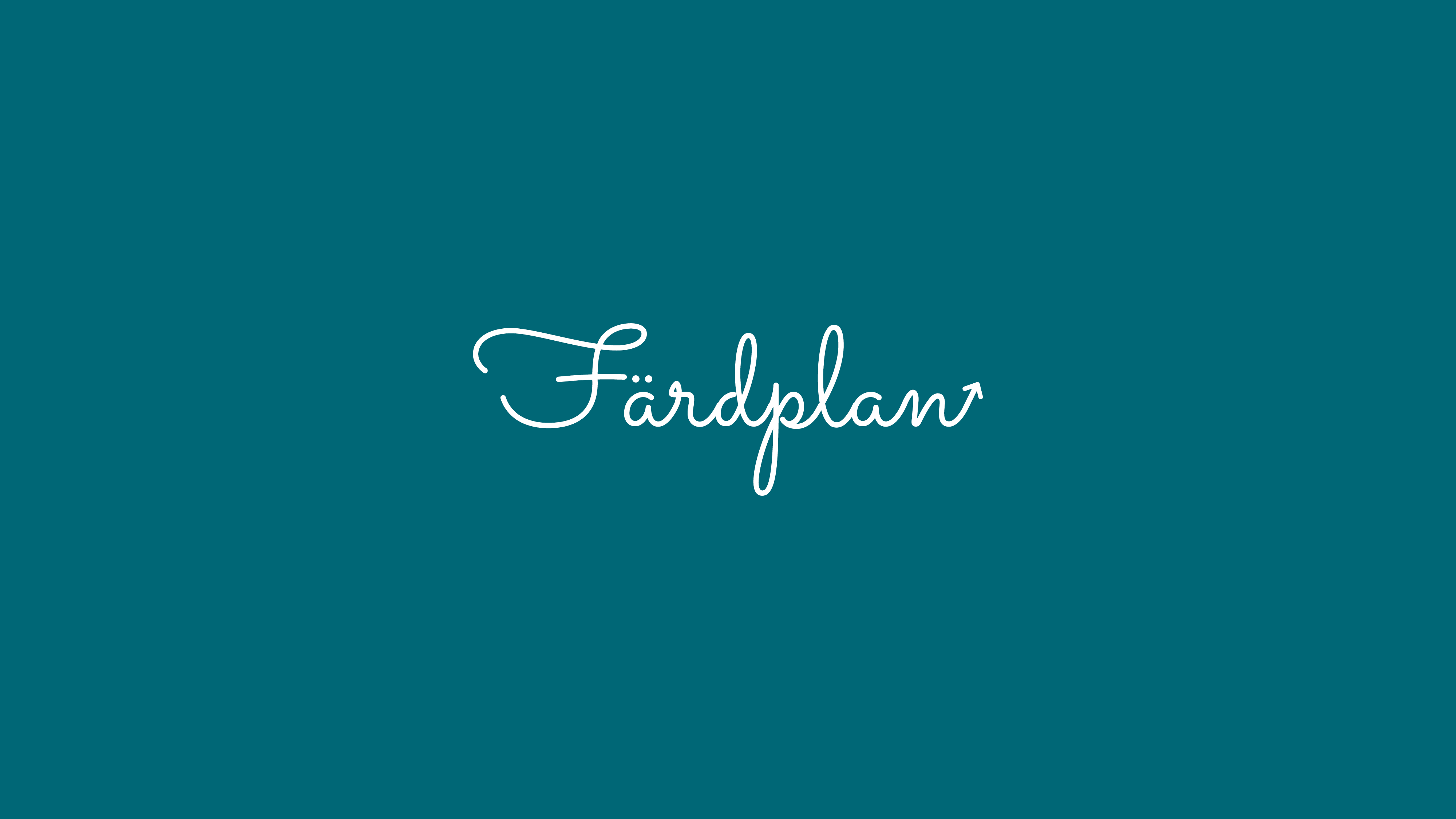 Färdplan